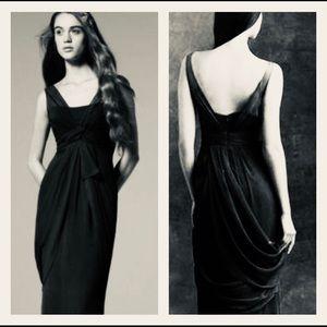 🌷Vera Wang Black Dress Chiffon Size 18 🌷